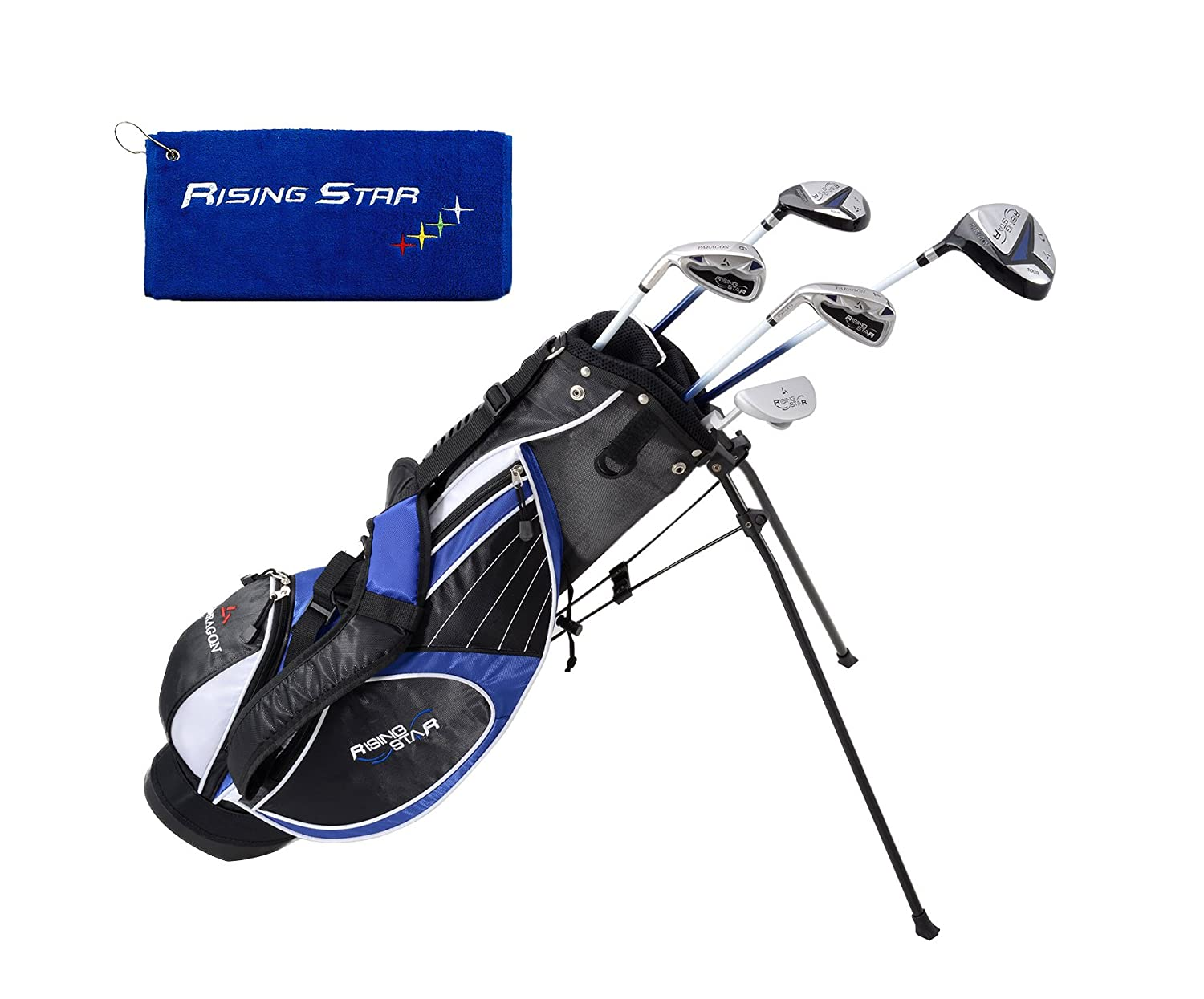 Paragon Golf Youth Golf Club Set, Blue, Ages 11-13 – Left Handed