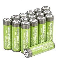 AmazonBasics Voorgeladen Ni-MH batterijen, 500 cycli (typisch 2500 mAh, minimaal 2400 mAh), (buitenste hoes kan afwijken…