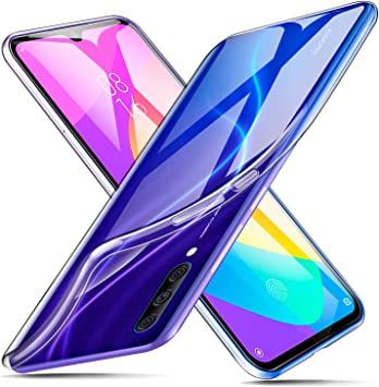 ivencase Funda Xiaomi Mi A3 Transparente, Carcasa Cristal Ultra ...
