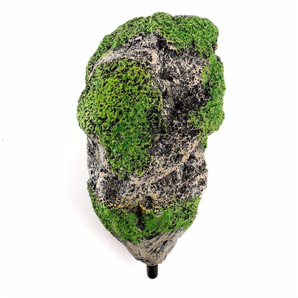 Piedra de resina flotante con musgo para acuario: Amazon.es: Productos para mascotas
