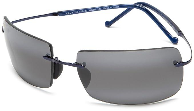 Maui Jim Gafas de sol THOUSAND PEAKS (517-03) azul 63MM ...