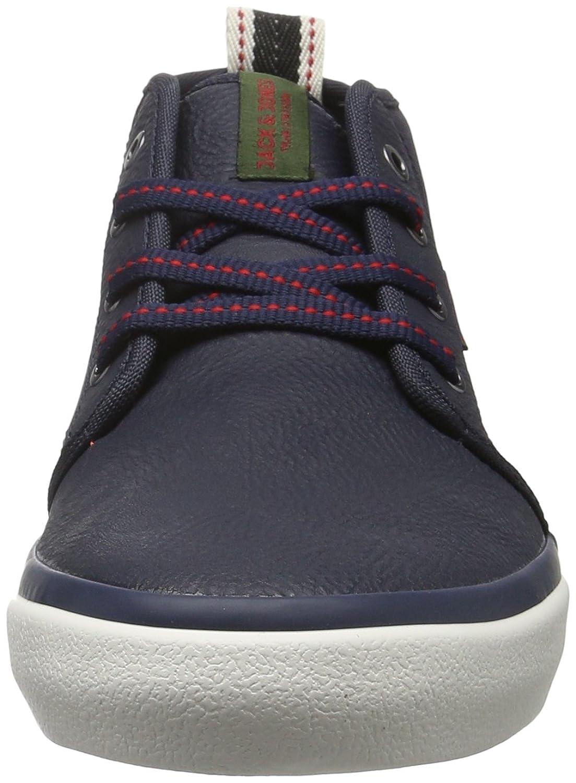 Jfwmajor Mixed Mid Sneaker Navy Blazer, Mens Low-Top Sneakers Jack & Jones