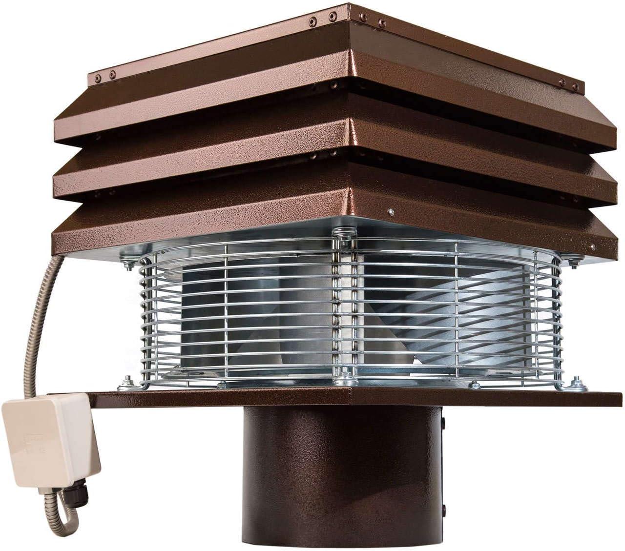 Extractor de humo Extractores de humo para chimeneas para barbacoa Aspirador de humos para chimenea extractor de chimenea extractor chimenea leña Gemi Elettronica modelo profesional redondo de 20 cm