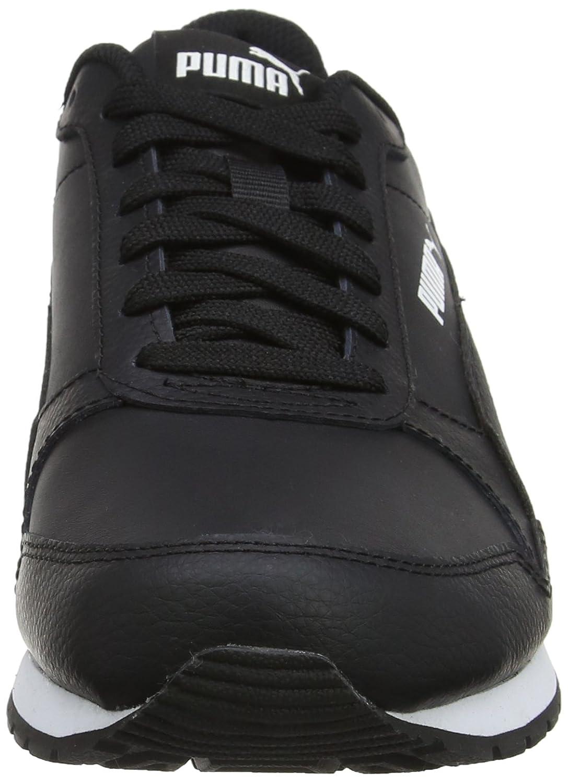 Puma Unisex-Erwachsene St Runner V2 Full L Sneaker Sneaker L Schwarz (Puma schwarz-puma schwarz 02) c09c70