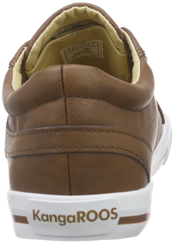 cognac Low Kangaroos Top Sneakers Brown K Women's 5054 Vulca S gFqzg