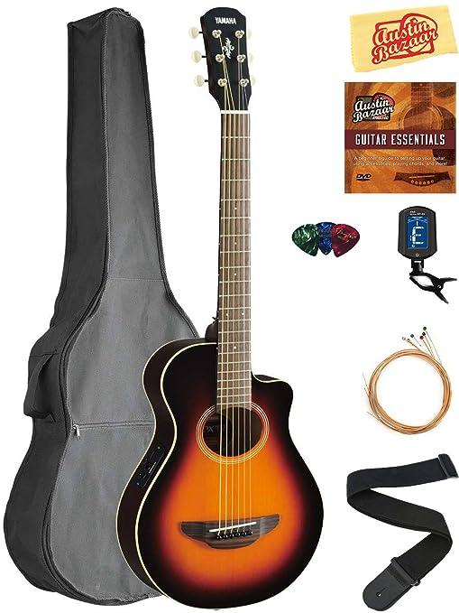 Yamaha APXT2 Guitarra eléctrica acústica, tamaño 3/4 Guitarra Deluxe paquetes.