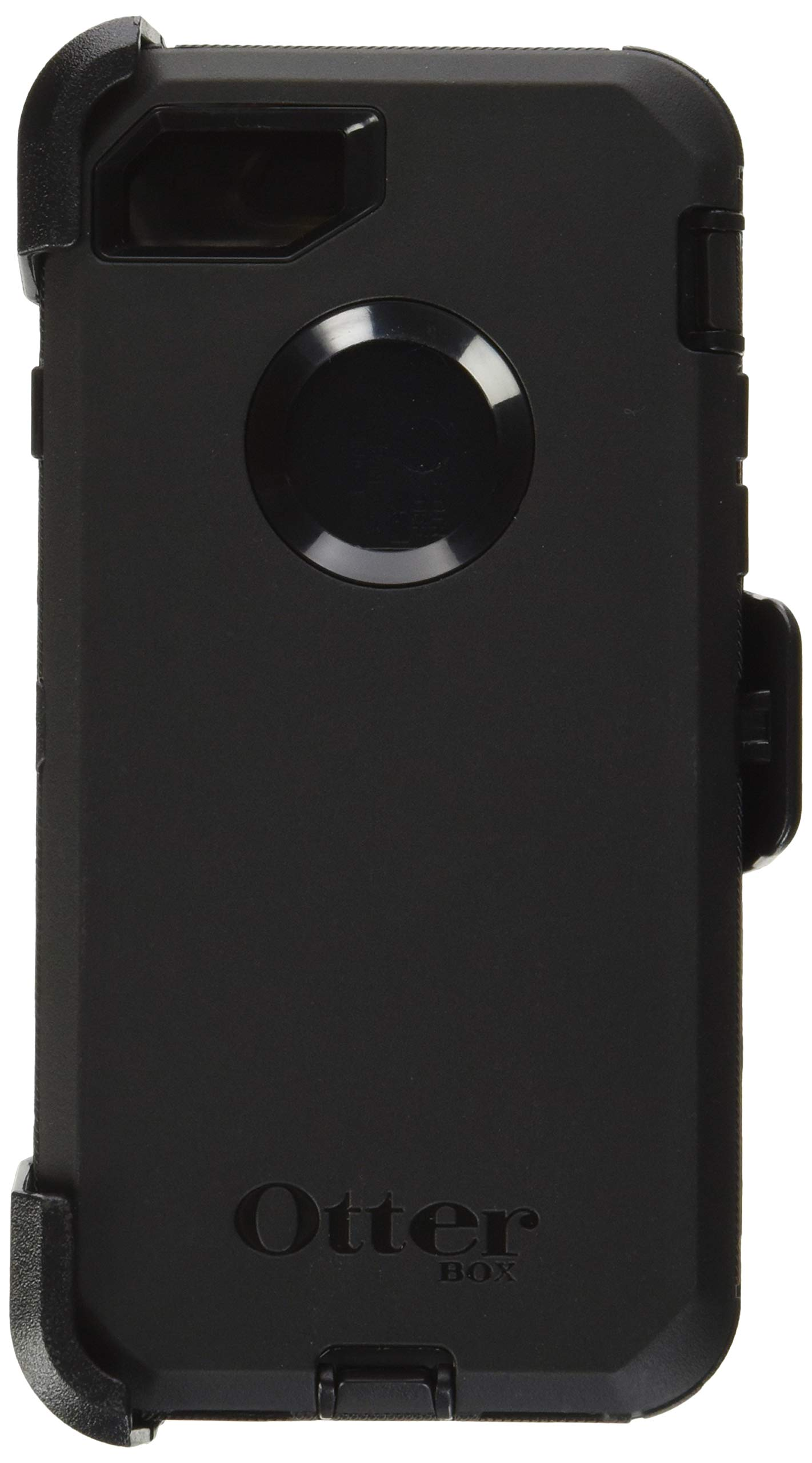 OtterBox Defender Series Case for iPhone 8 & iPhone 7 (Not Plus) - Frustration Free Packaging - Black by OtterBox