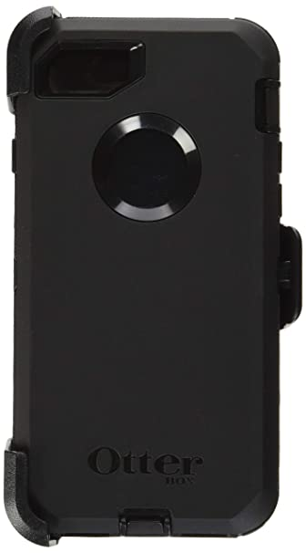 new style cccfd bb98c OtterBox Defender Series Case for iPhone 8 & iPhone 7 (Not Plus) -  Frustration Free Packaging - Black