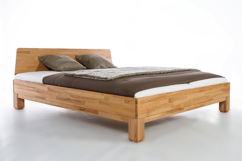Massivholzbett Roma Buche Doppelbett Bett Massiv Kernbuche Neu Ovp