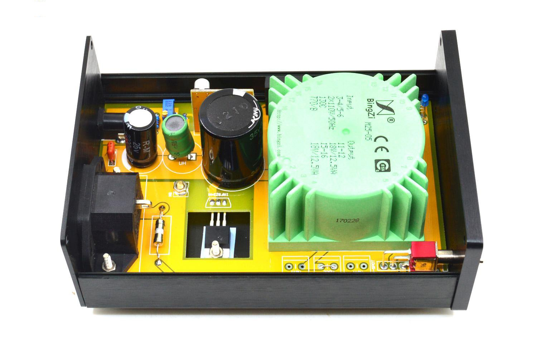 DC15.2V HiFi Linear power supply Regulated PSU for FIIO X7 K5 by Jolooyo