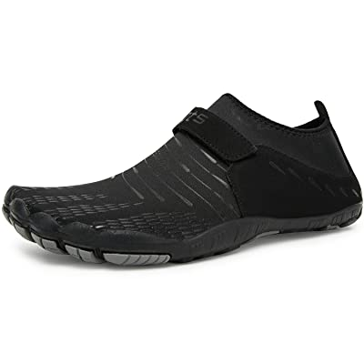 IKENIP Mens Womens Water Shoes Barefoot Quick Dry Aqua Wide Toe for Swim Yoga Exercise Hiking Beach Pool | Water Shoes