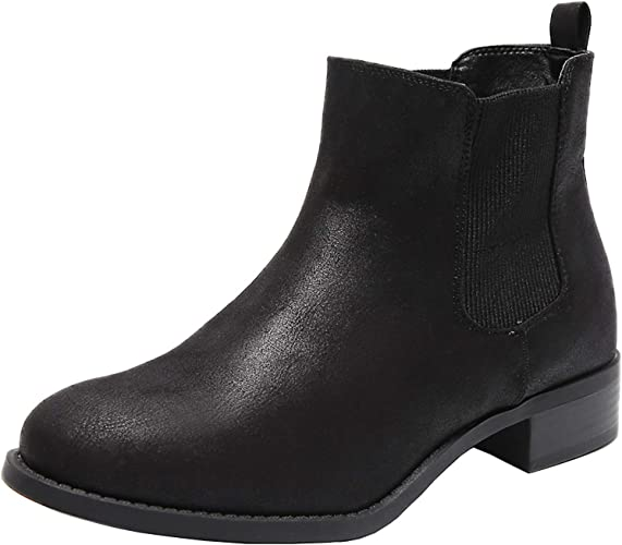 Wide Width Chelsea Ankle Boots