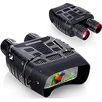 Binoculares Visión Nocturna Hollee Prismáticos de Infrarrojos Distancia de 300m en Completa Oscuridad HD Digital…