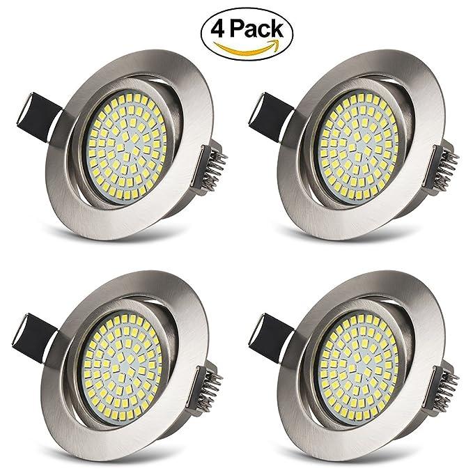 15 opinioni per Faretti Incasso LED Luce Fredda 6000K 3.5W Luci da Incasso Ultra Slim Plafoniere
