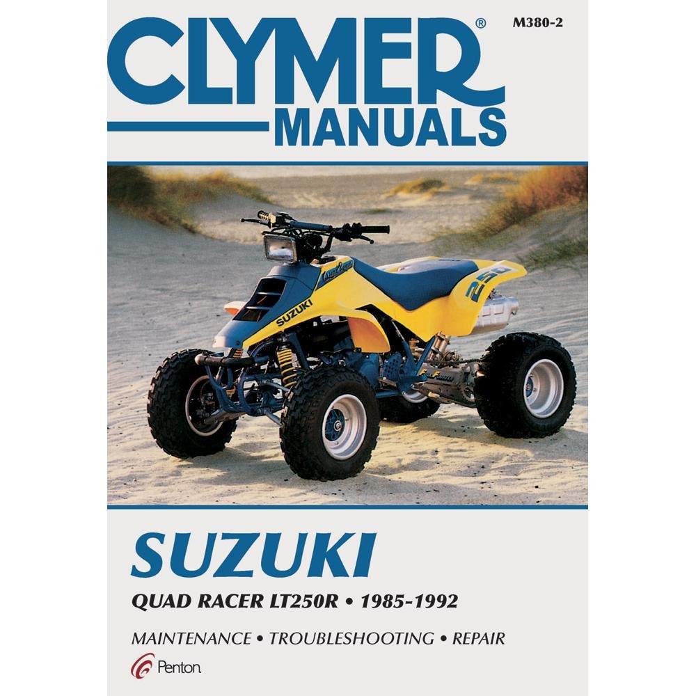 1985-1992 CLYMER SUZUKI ATV QUAD RACER LT250R SERVICE MANUAL M380-2:  Manufacturer: 6521515423190: Amazon.com: Books