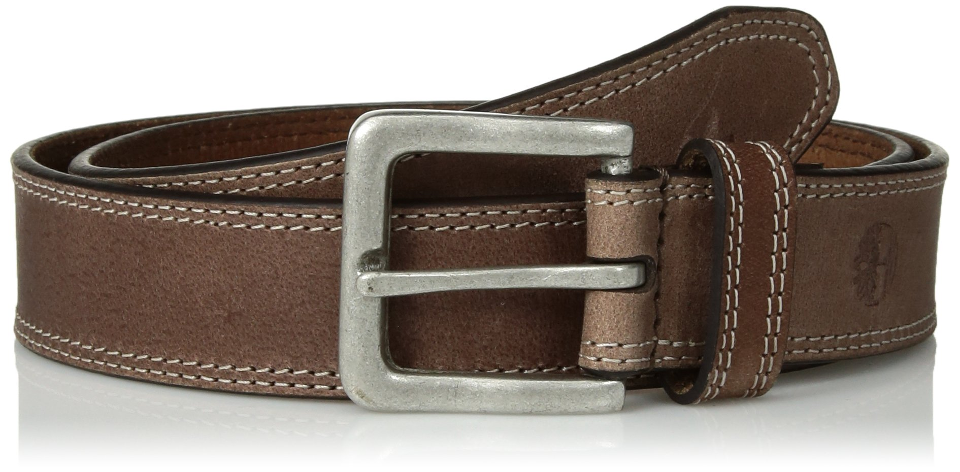 Timberland Men's 35mm Boot Leather Belt Dark Brown 32