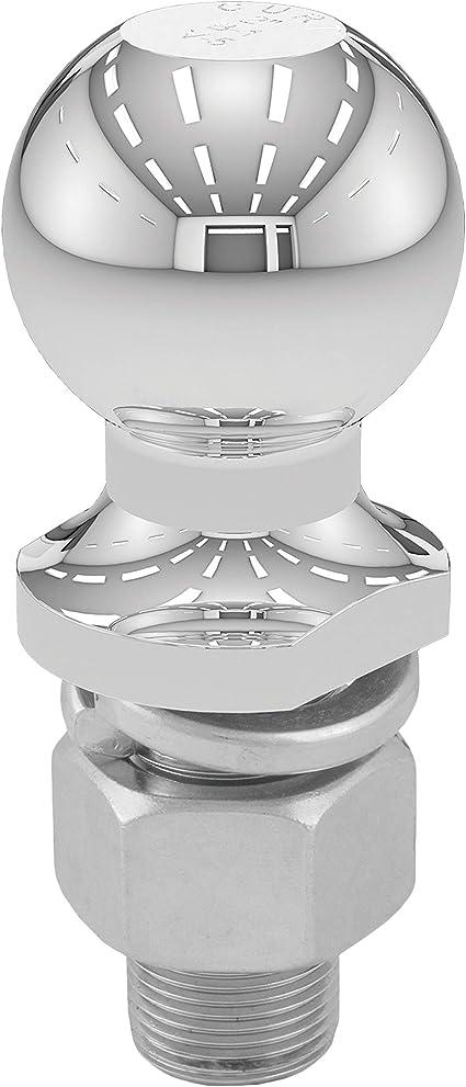 Diameter Chrome Trailer Ball CURT Manufacturing 40003 2 In