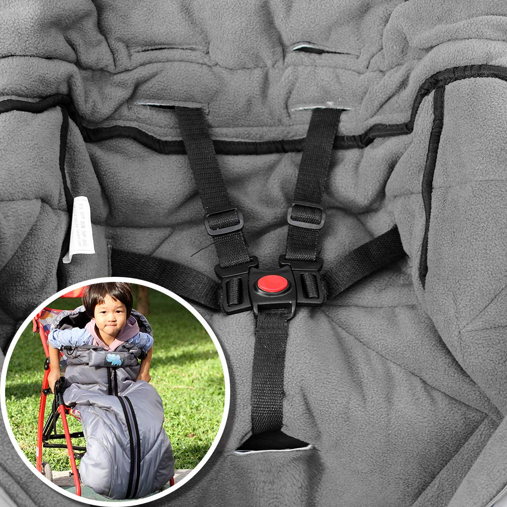 Baby Stroller Bunting Bag for Winter Outdoor Tour Anti-Kicking Sleeping Wrap Nest Universal Waterproof Baby Infant Stroller Sleeping Bag Warm Footmuff Sack