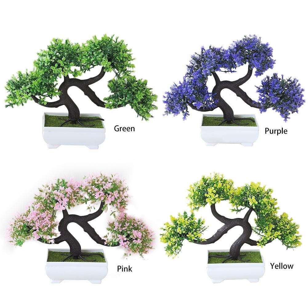 ne dispara/ît jamais arbre de bonsa/ï d/écoration dusine en plastique Mini kit dint/érieur darbre artificiel de bonsa/ï d/écorations pour maison pour salon et le bureauplantes jardin artificielles