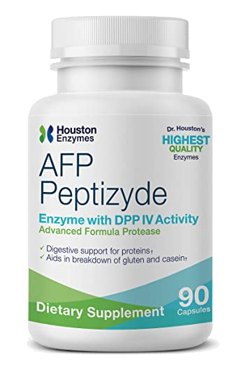 Houston Enzymes – AFP Peptizyde – 90 Capsules – Professionally Formulated  Enzyme