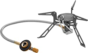 Fire-Maple Blade 2 Ultralight Backpacking Stove   Titanium and Aluminum Alloy Camping Stove   Isobutane/Propane Stove   Perfect for Backpacking, Outdoor, Hiking, & Emergency Use