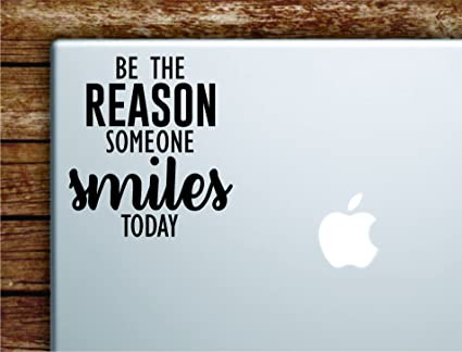 Amazoncom Boop Decals Be The Reason Someone Smiles Today Laptop