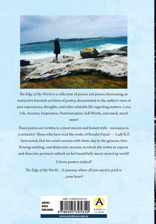 Amazoncom The Edge Of My World 9780995395350 Rosalie Fayad Books