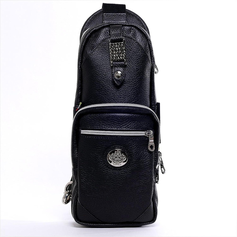 オロビアンコ[Orobianco]オールレザーボディバッグ ANNIBALE(総革ブラック) メンズ B01D1GMJAI