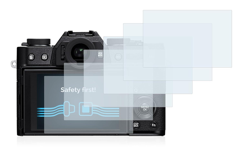 6 Unidades Pelicula Ultra Transparente savvies Protector Pantalla Compatible con FujiFilm X-T10