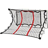 Franklin Sports MLS Soccer 2 In 1 X-Ramp - Soccer Trainer and Rebounder - 44 x 41 x 25 Inches