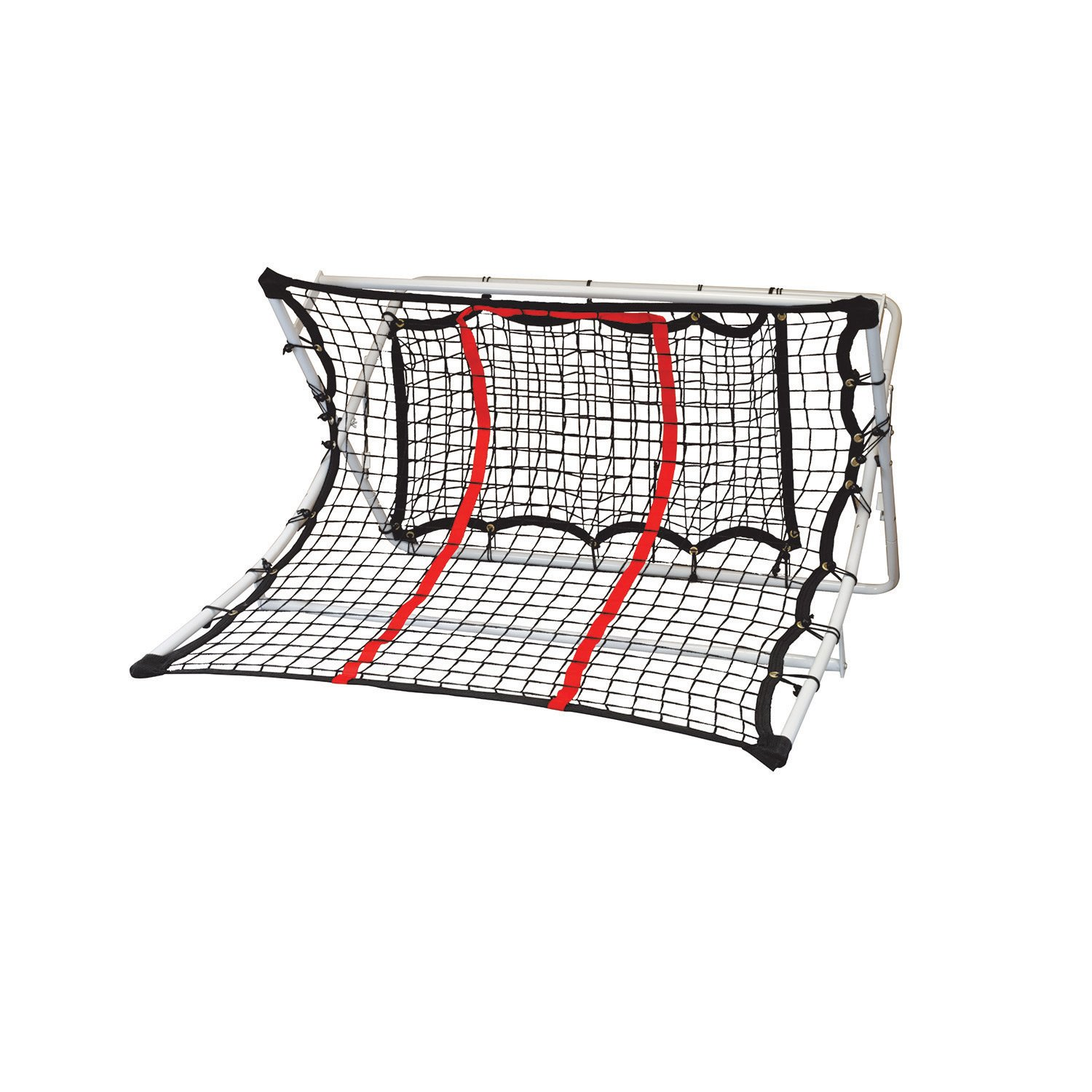 Franklin Sports MLS Soccer 2 In 1 X-Ramp - Soccer Trainer Rebounder - 44 x 41 x 25 Inches