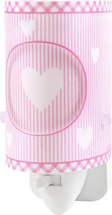 dalber 62015s sweet dreams nachtlicht plastik rosa 6 x 7 x 13 cm