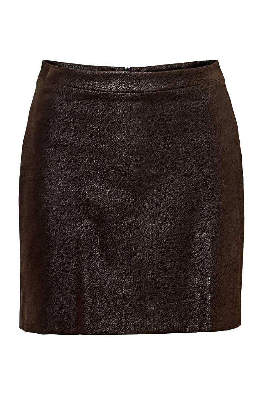 Drykorn Mini Skirt QUIN, Color: Dark Brown