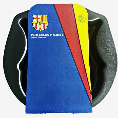 Molde Bizcocho y Tarta para Reposteria - Moldes Horno Forma FC Barcelona para Tartas Pastel o