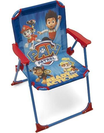 ARDITEX PW9506 - Silla Plegable para niños, diseño de La Patrulla Canina, Tela,