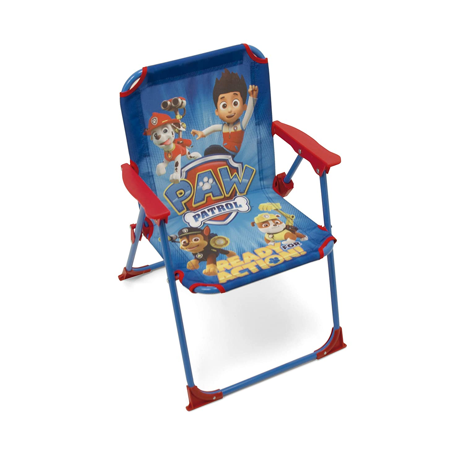 Arditex Folding Chair for Child Licensed pat' Patrol in Metal, Size: 38x32x53 cm, Material, Fabric, 38 x 32 x 53 cm PW9506