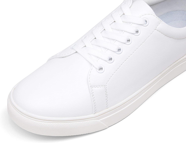 VOSTEY Men's Fashion Sneakers White