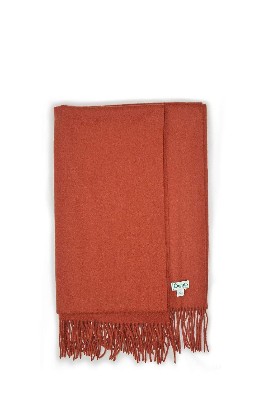 Peso gr 281 Caputo purecachemire caldissimo ed elegante scialle in tessuto Double Face 100/% Puro Cachemire Misura cm 180 x cm 65
