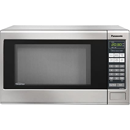 Panasonic NN SN661S Stainless 1200W 1.2 Cu. Ft. Countertop Microwave Oven  With Inverter