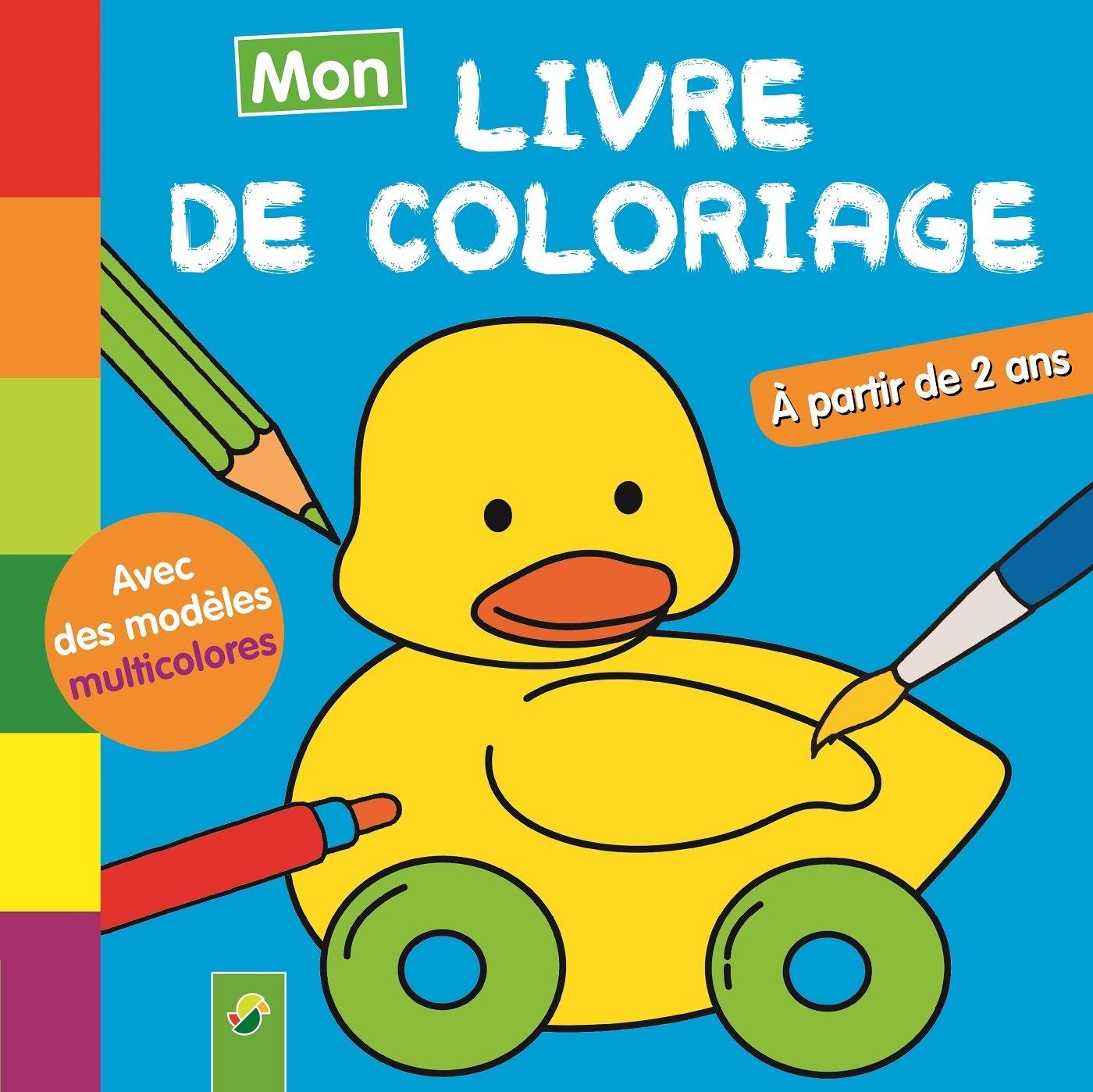 Amazonin Buy Mon Livre De Coloriage Caneton Book Online