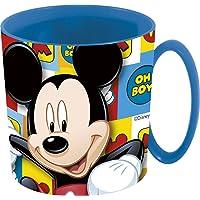 Disney- Baby Mickey Tazza per Microonde, Blu, 350 ml, 841249719004