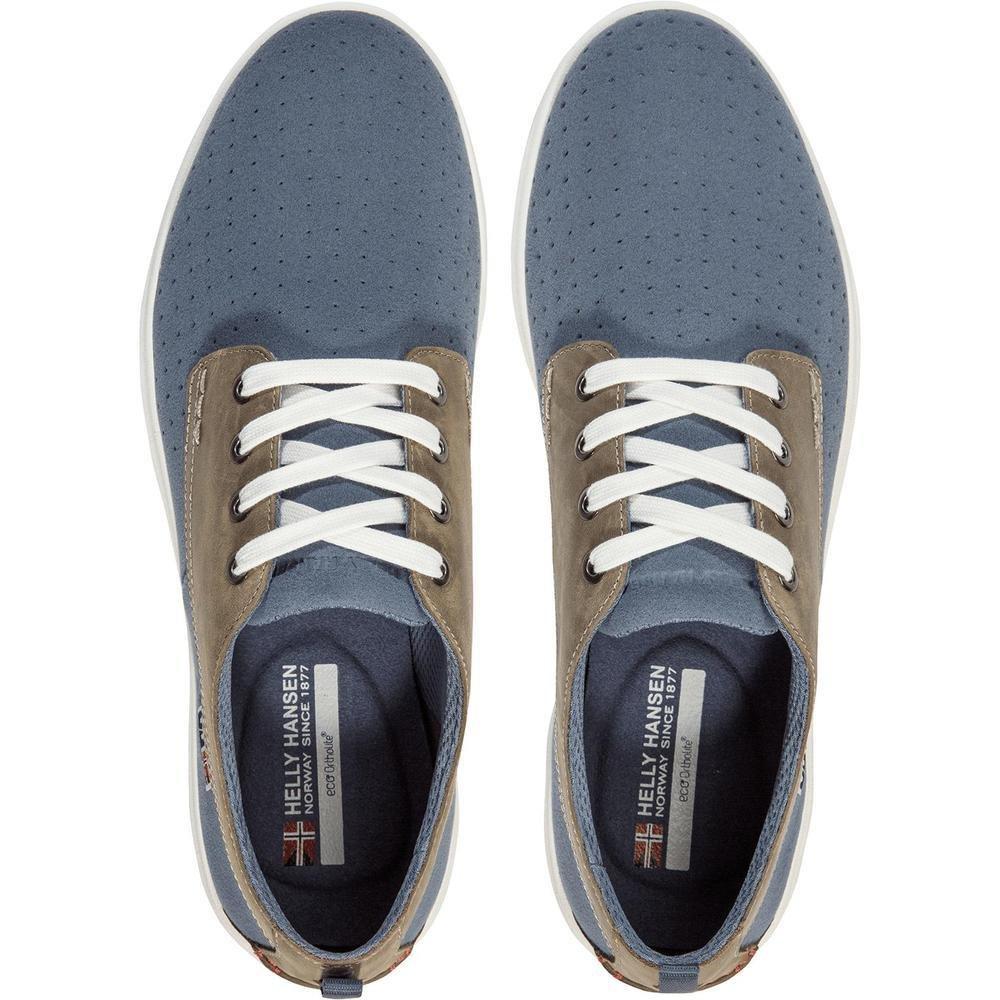 Helly Hansen Mens BERGSHAVEN Boat Shoes Blue