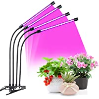 Yierblue Indoor 45W 5 Dimmable Levels Plant Grow Lights
