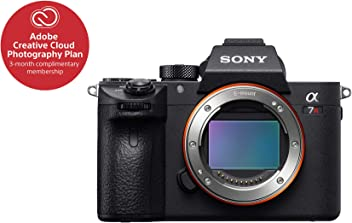 """Sony a7R III Mirrorless Camera: 42.4MP Full Frame High Resolution Mirrorless Interchangeable Lens Digital Camera with Front End LSI Image Processor, 4K HDR Video and 3"""" LCD Screen - ILCE7RM3/B Body"""