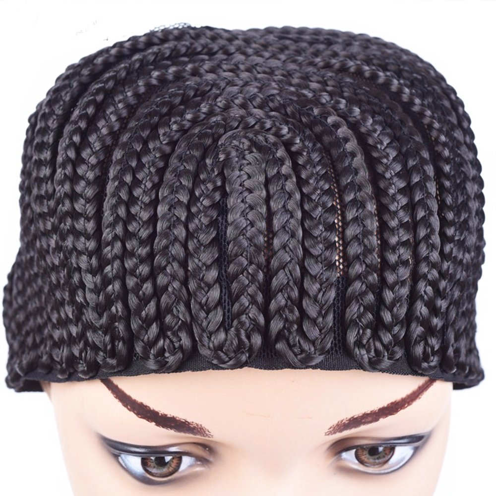 Cecillia Stretchable Elastic Nylon Lace Front Wig Cap Black