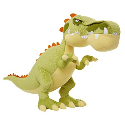 "Gigantosaurus Giganto Jumbo Plush Dinosaur Figure, Soft Fabric Plush, 18"" Long & 12"" Tall, Perfect for Bedtime & Naptime Snuggles! for Kids Ages 12 Months & Up: Toys & Games"