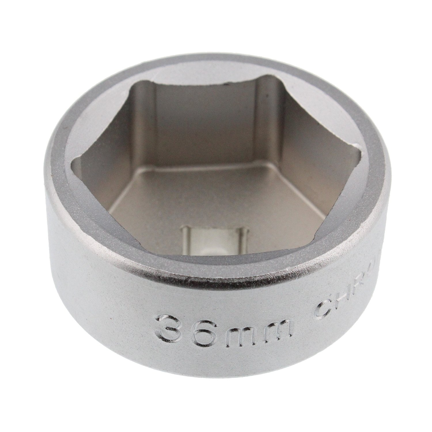 ABN Oil Filter Wrench – 36mm Metric, Low Profile, CRV Steel – Socket Tool to Remove Cartridge Style Housing Canister Cap