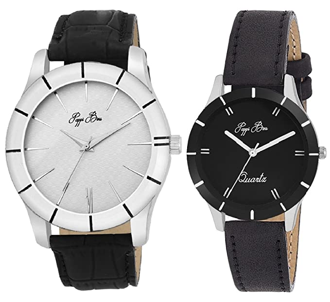 Couple Offer SImple, Sober & Classic Z Black Analog Classic Watch for Couples