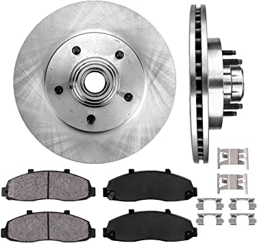 Front Brake Calipers /& Pads For 1997 1998 1999 2000 2001-2004 F150 4WD 4X4 2WD
