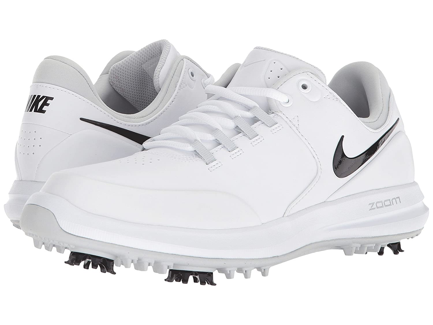 [NIKE(ナイキ)] レディーステニスシューズスニーカー靴 Air Zoom Accurate White/Black/Metallic Silver/Pure Platinum 11 (28cm) B - Medium B07FBDJ6ZC